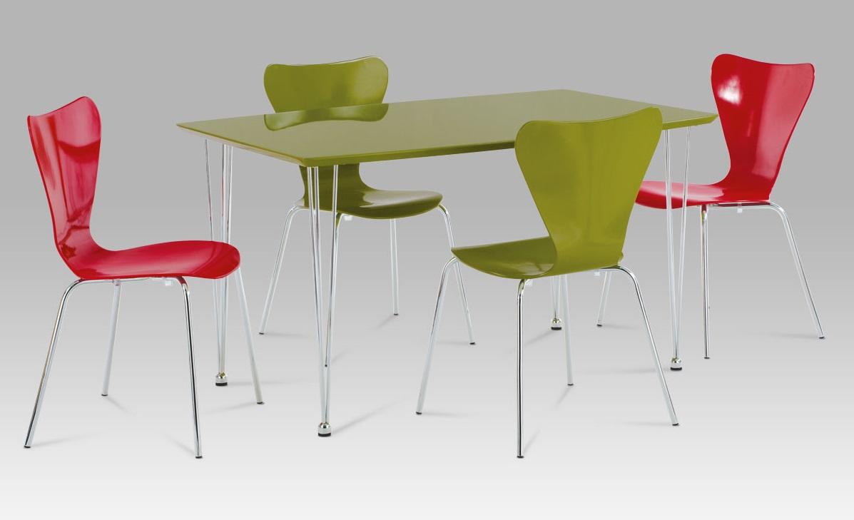 Plastová jedálenská stolička C-180-5